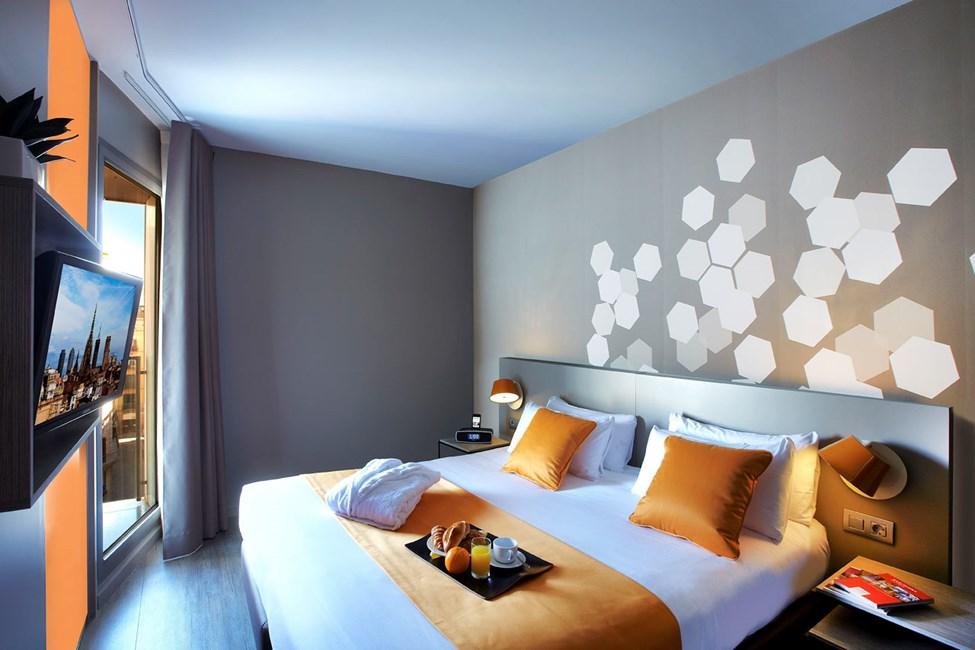 Sovrum i tvårumslägenhet