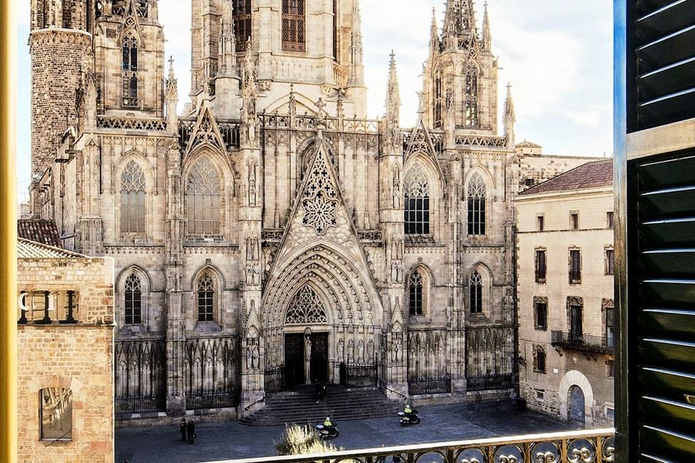 Utsikt mot katedralen