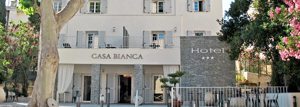 Hotel Casa Bianca, Calvi, Korsika, Frankrike
