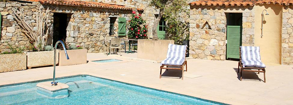 Hotel Casa Rossa, L'Île-Rousse, Korsika, Frankrike