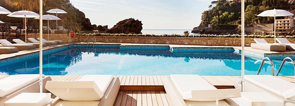 Grand Hotel Mazzarò Sea Palace, Taormina, Sicilien, Italien