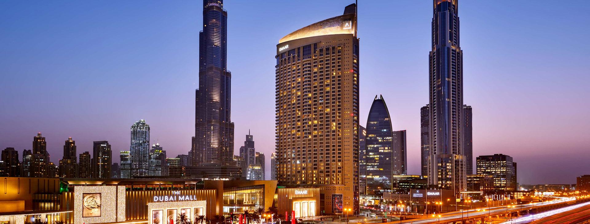 The Address Dubai Mall, Downtown Dubai, Dubai, Förenade Arabemiraten