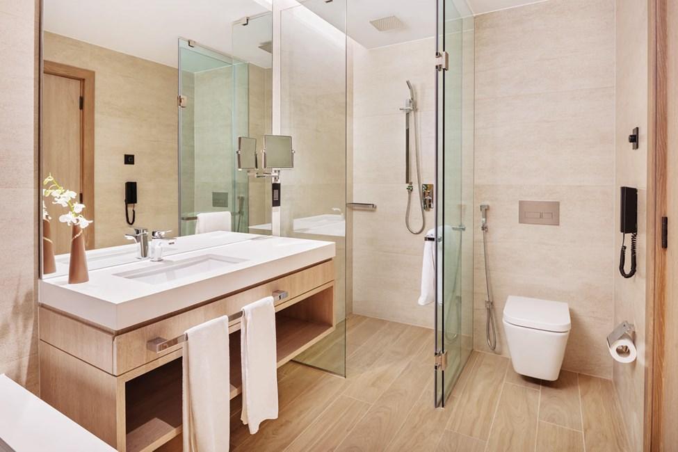 Exempel på badrum. Bilden är en illustration och kan komma att ändras.