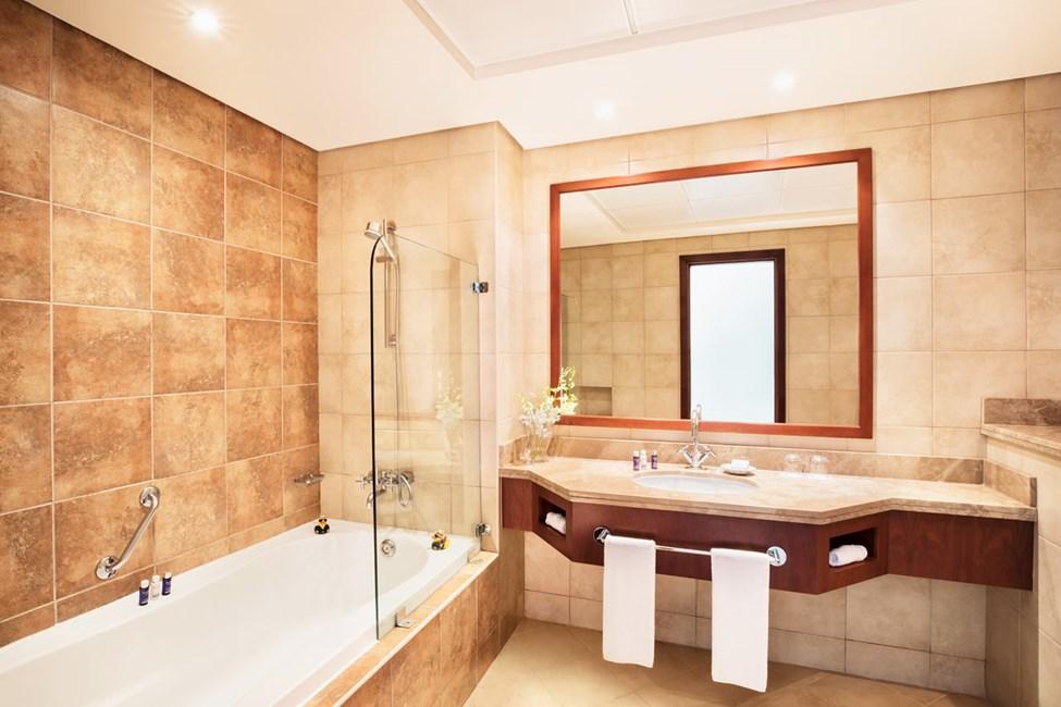 Exempel på badrum i lägenheterna