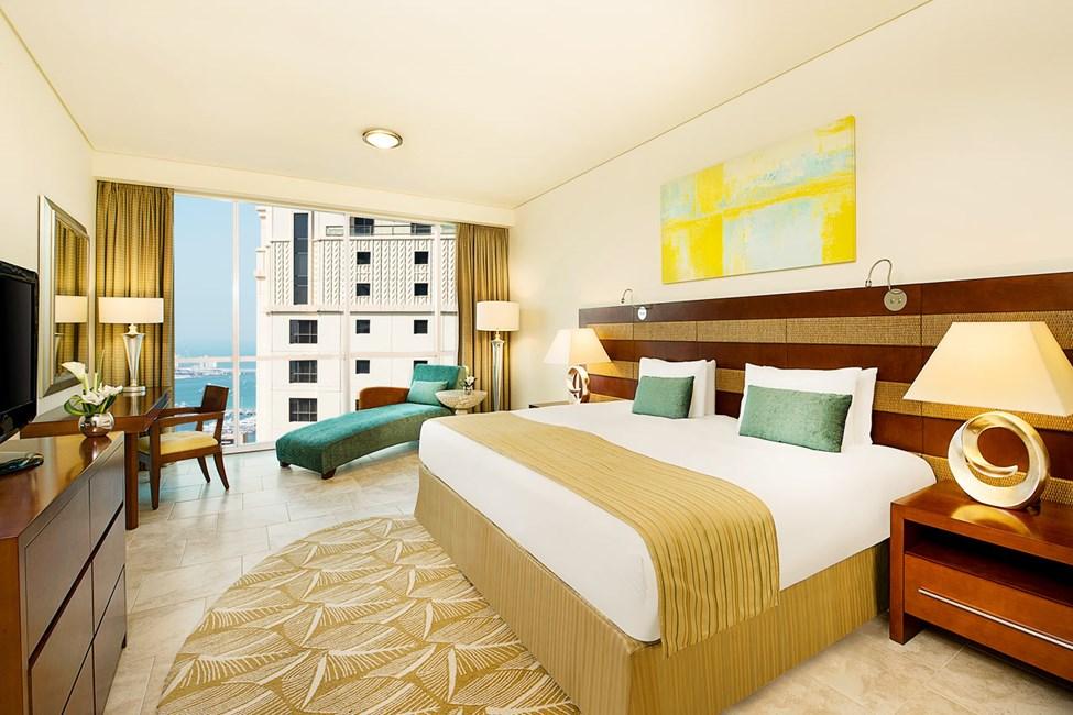 Exempel på sovrum i lägenheterna