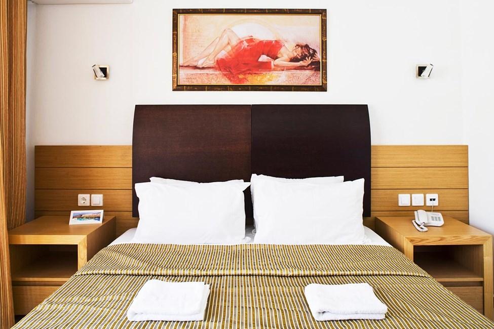 Sovrum i dubbelrummen