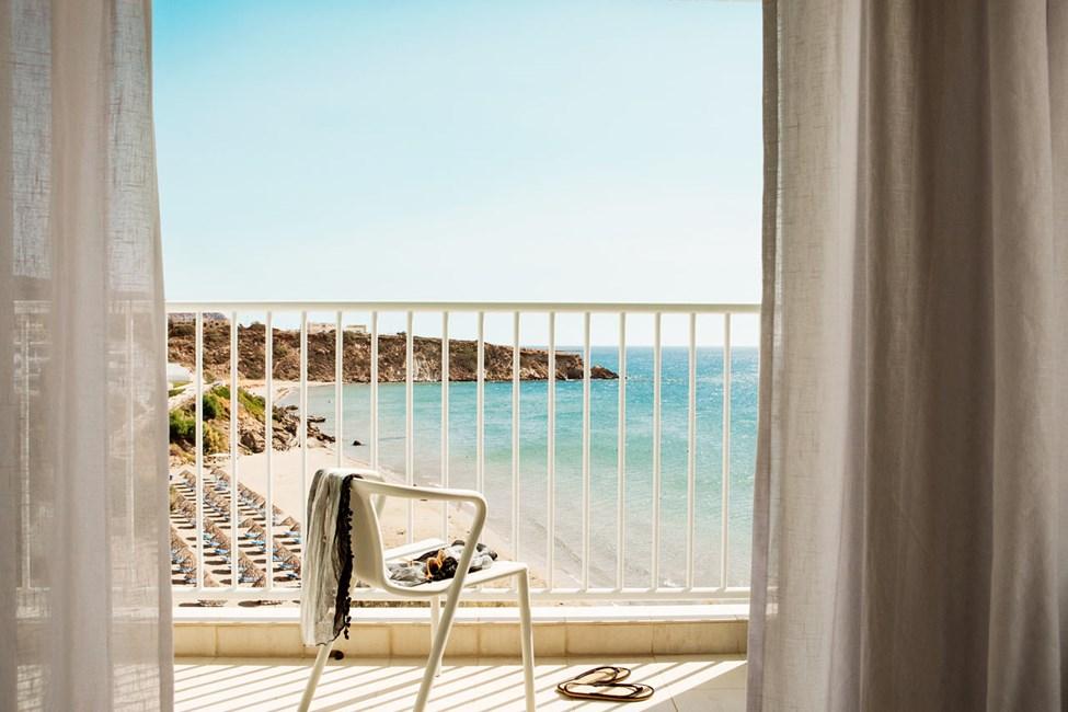 1-rums Compact Suite, balkong med havsutsikt.