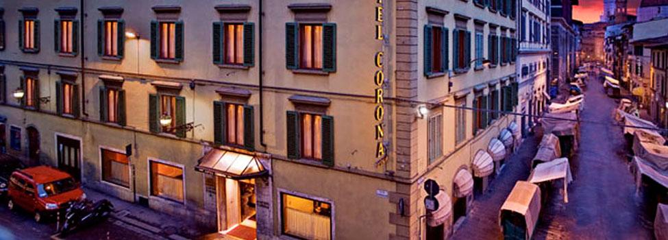 Corona d'Italia, Florens, Toscana, Italien