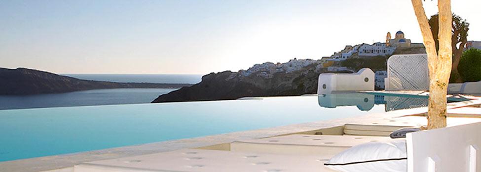 Kirini Suites & Spa, Oia, Santorini, Grekland