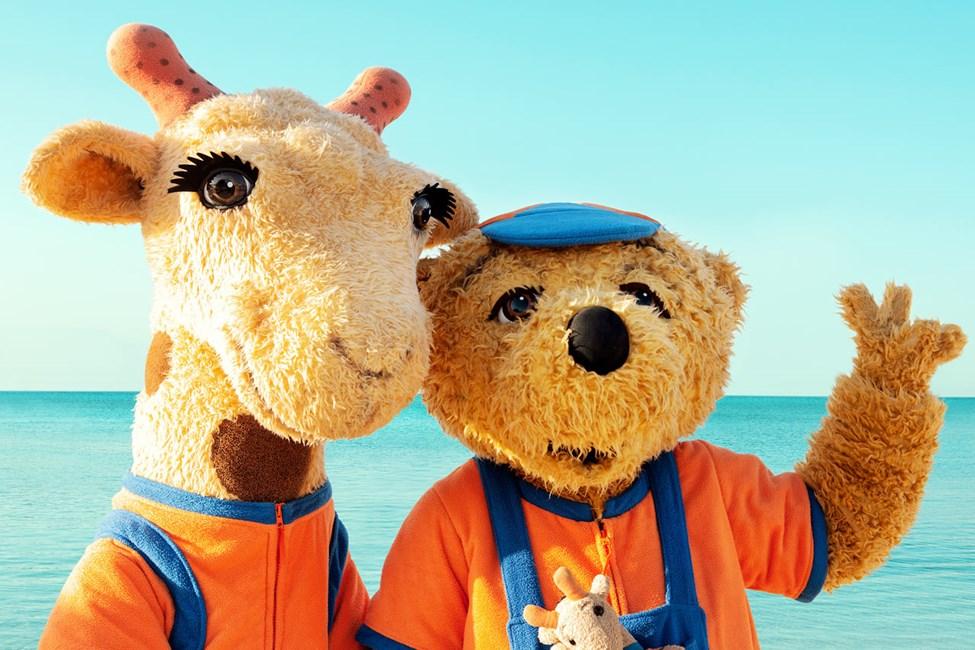 Vi ordnar massor av barnaktiviteter och äventyr tillsammans med Lollo & Bernie.