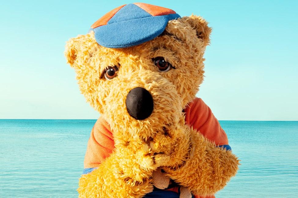 Kom och träffa den kloka och modiga Bernie på Sunwing Kamala Beach