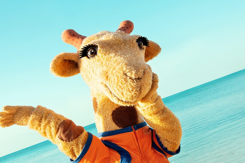 På Sunwing Kamala Beach väntar Lollo nyfiket på nya gäster som hon kan dansa med