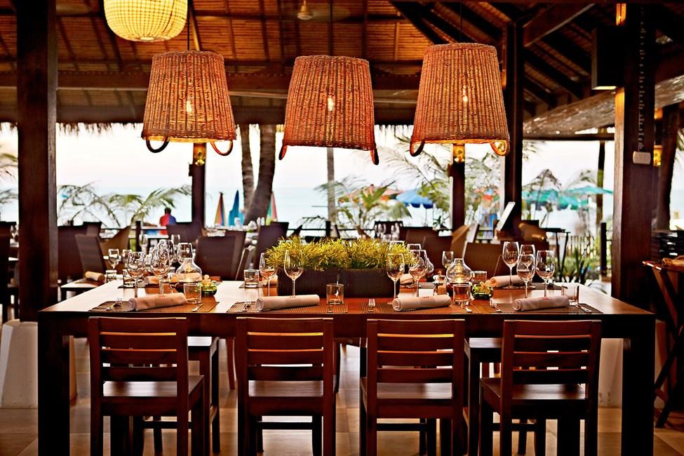 Den fina utsikten från Restaurang by the Sea