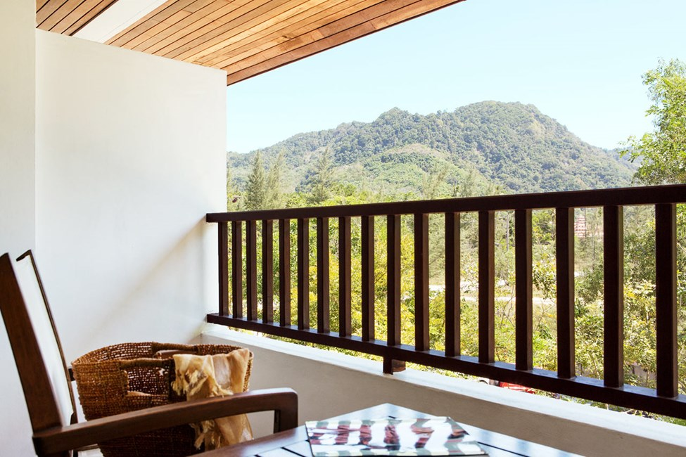 Classic Suite med balkong mot omgivningarna