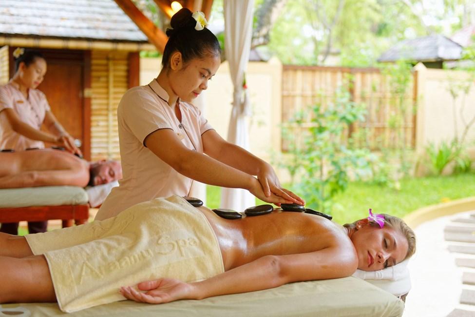 Unna dig en skön massage