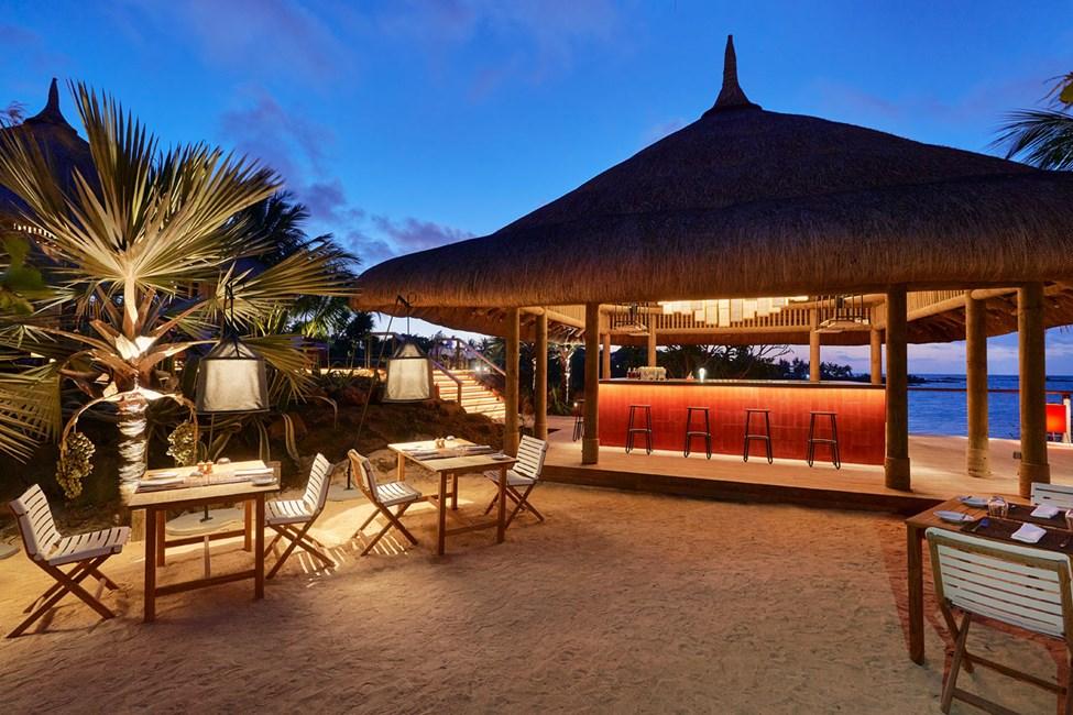 Restaurang vid stranden