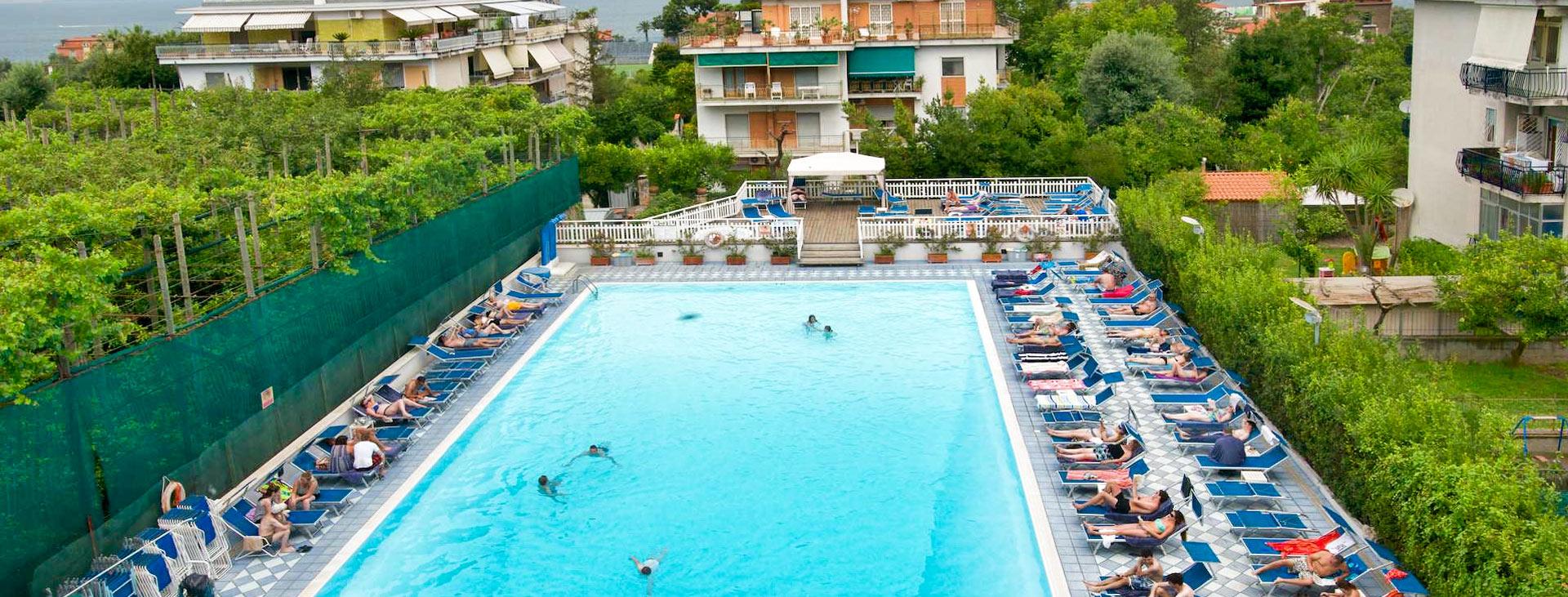 Grand Hotel Flora, Sorrento, Amalfikusten, Italien