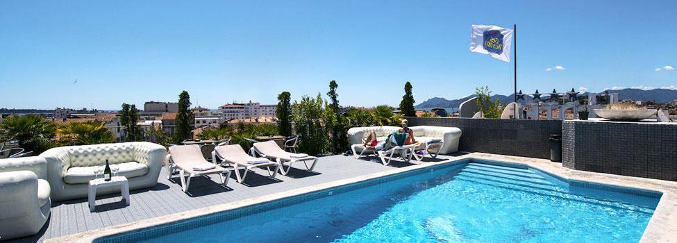 Cannes Riviera Hotel, Cannes, Franska rivieran, Frankrike