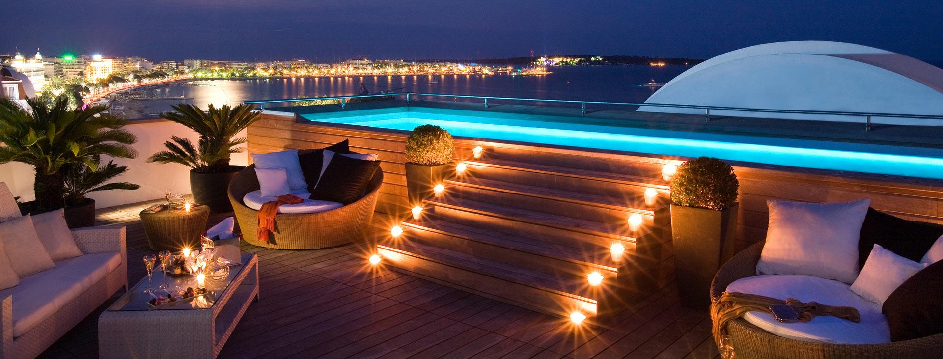 Barrière Le Majestic Cannes, Cannes, Franska rivieran, Frankrike