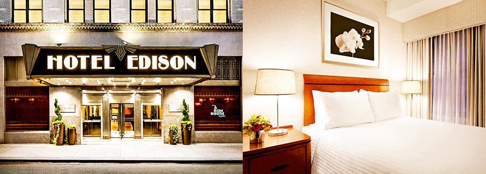 Hotel Edison, New York, Östra USA, USA