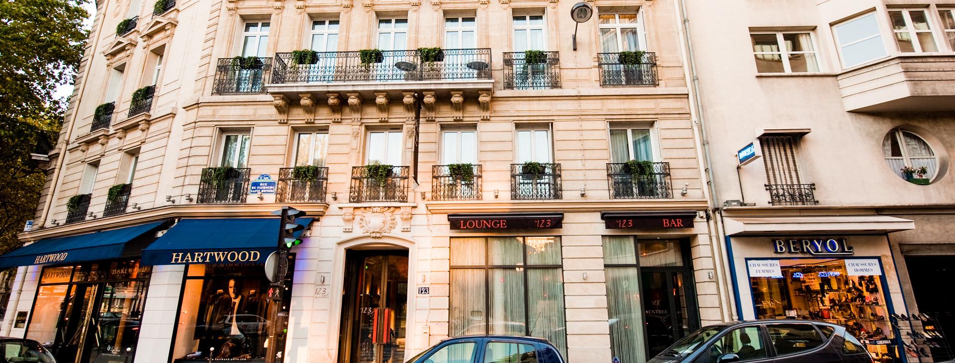 Hotel Le 123 Elysees, Paris, Paris, Frankrike