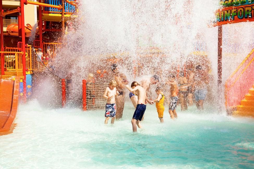 På Waterworld Makadi Beach trivs alla badtokiga barn