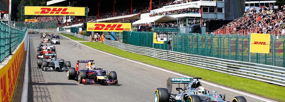 Formel 1 i Belgien, Belgian Grand Prix, Belgien
