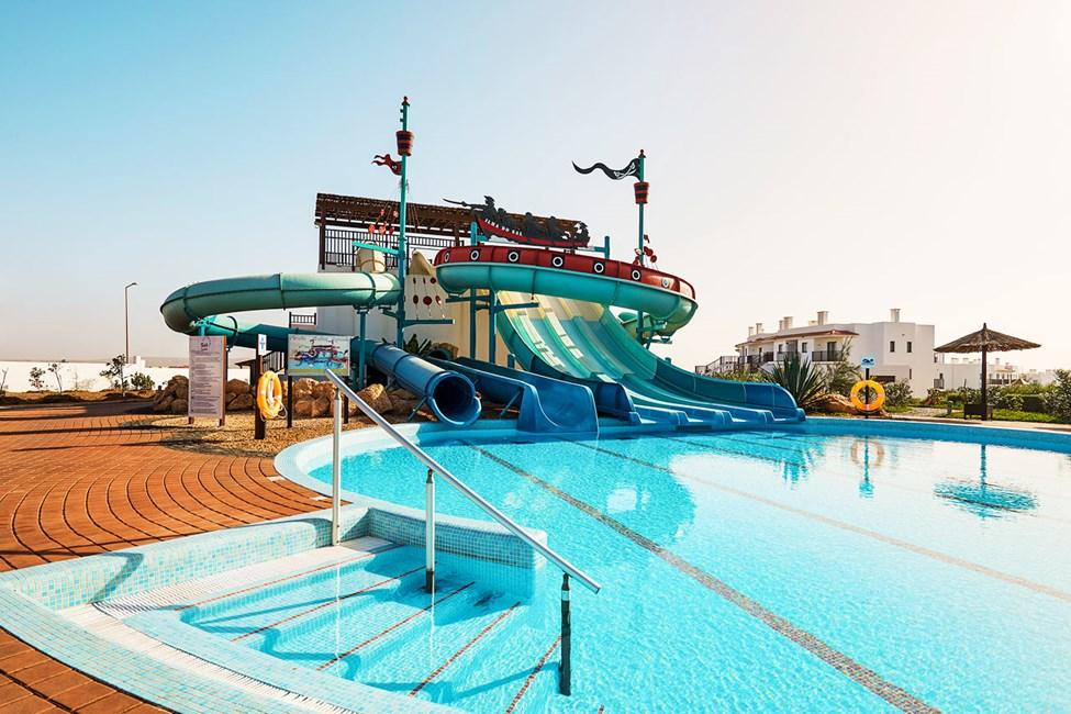 Vattenlandet på systerhotellet Sol Dunas Resort