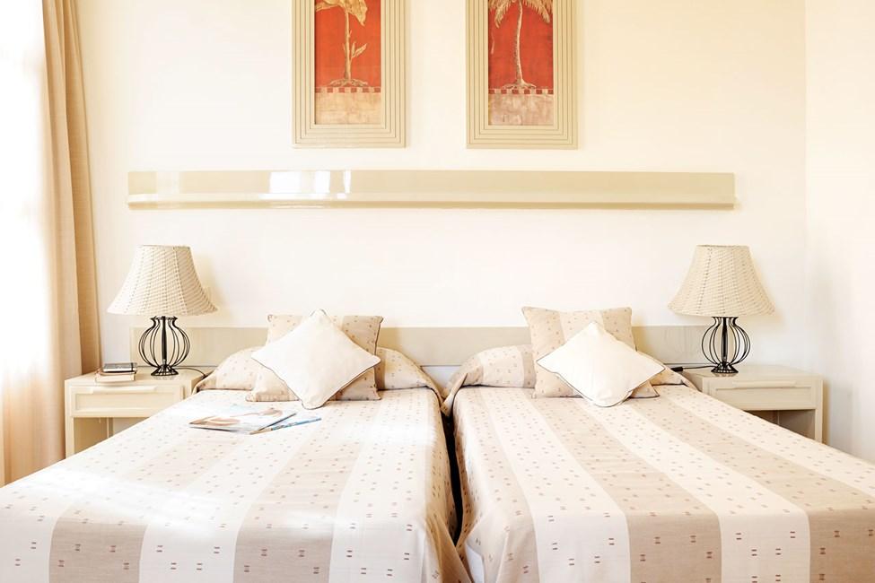 Fyrbäddsrum med två sovrum
