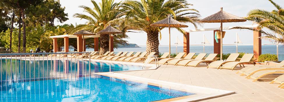 Alexandra Beach, Potos, Thassos, Grekland