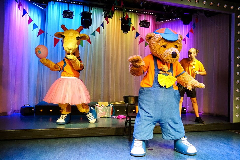 Lollo & Bernie's shower är mycket uppskattad av både stora och små gäster.
