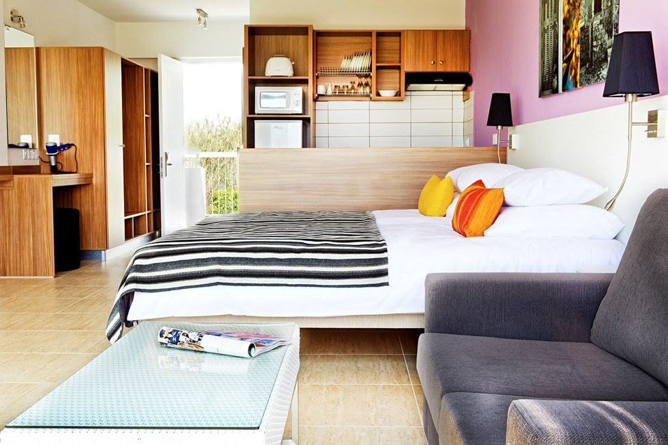Classic Suite med balkong mot trädgården