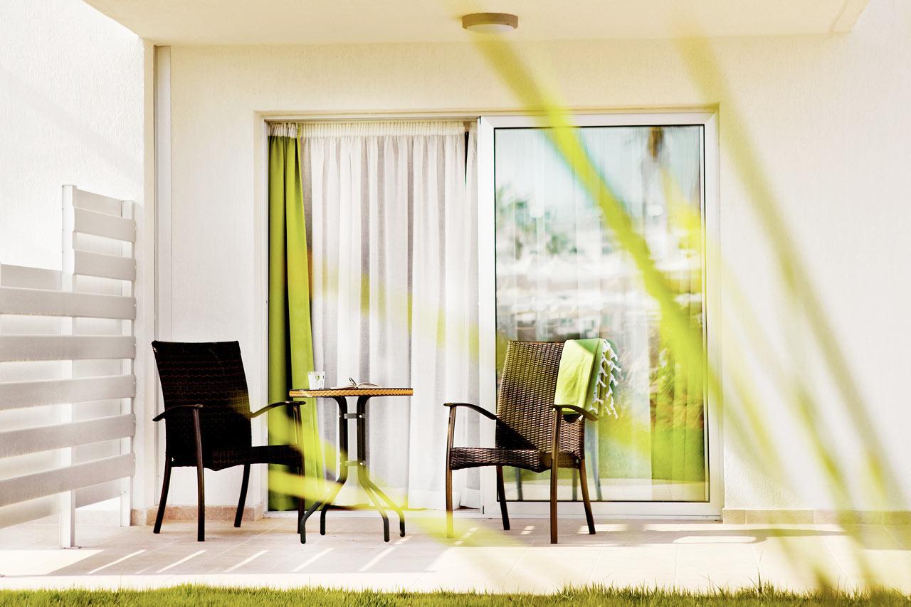 Classic Suite eller Junior Suite med terrass mot trädgården