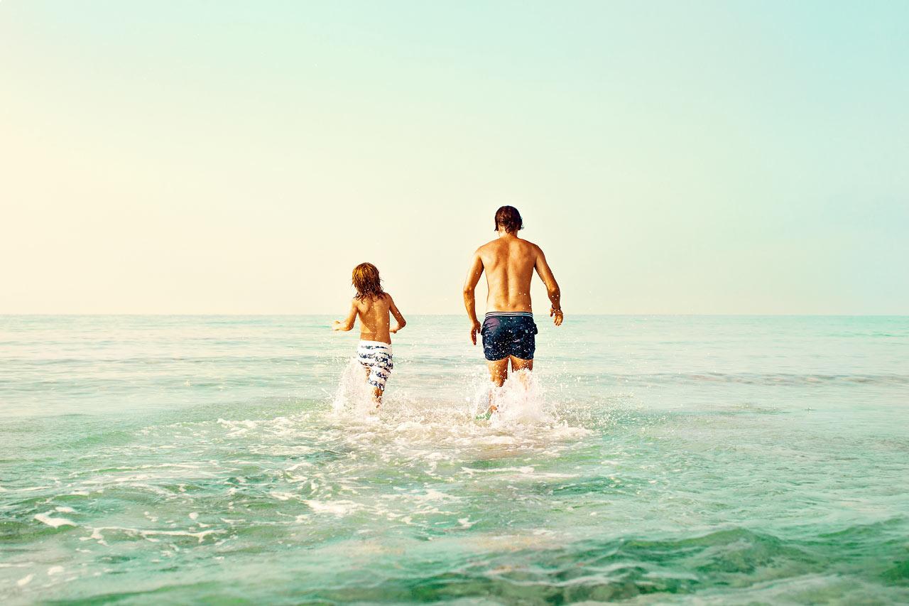 Nissi Beach och Sandy Bay Beach ligger inte mer än ett par hundratal meter från Ocean Beach Club.