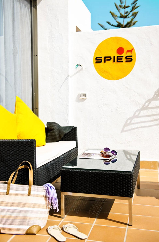 1-rumssvit Simon Spies för 2-3 personer