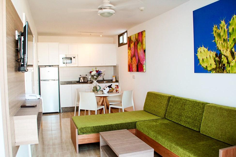 Tvårumslägenhet, Club Room och lägenhet - typ D