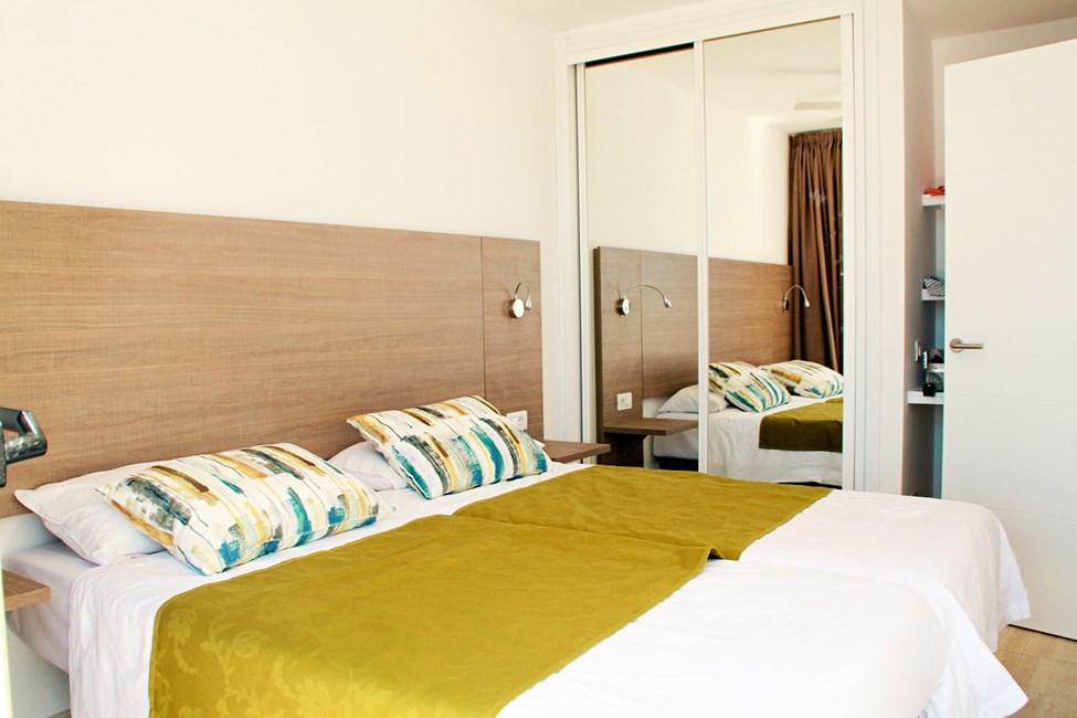 Tvårumslägenhet typ D med havsutsikt och tvårumslägenhet Club Room typ D med havsutsikt