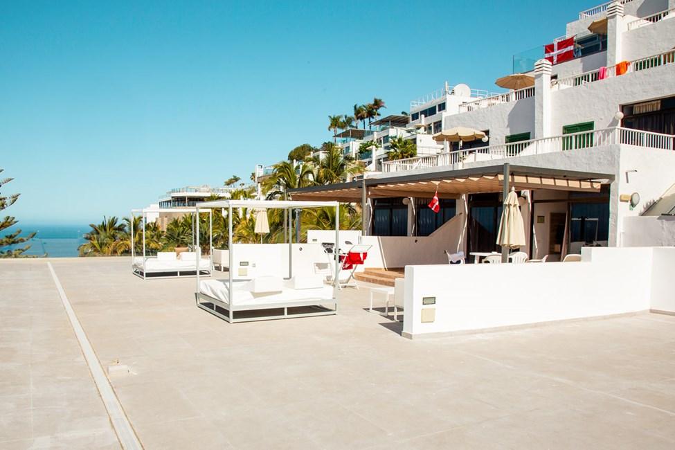 Tvårumslägenhet Club Room typ B med terrass, soldäck och havsutsikt