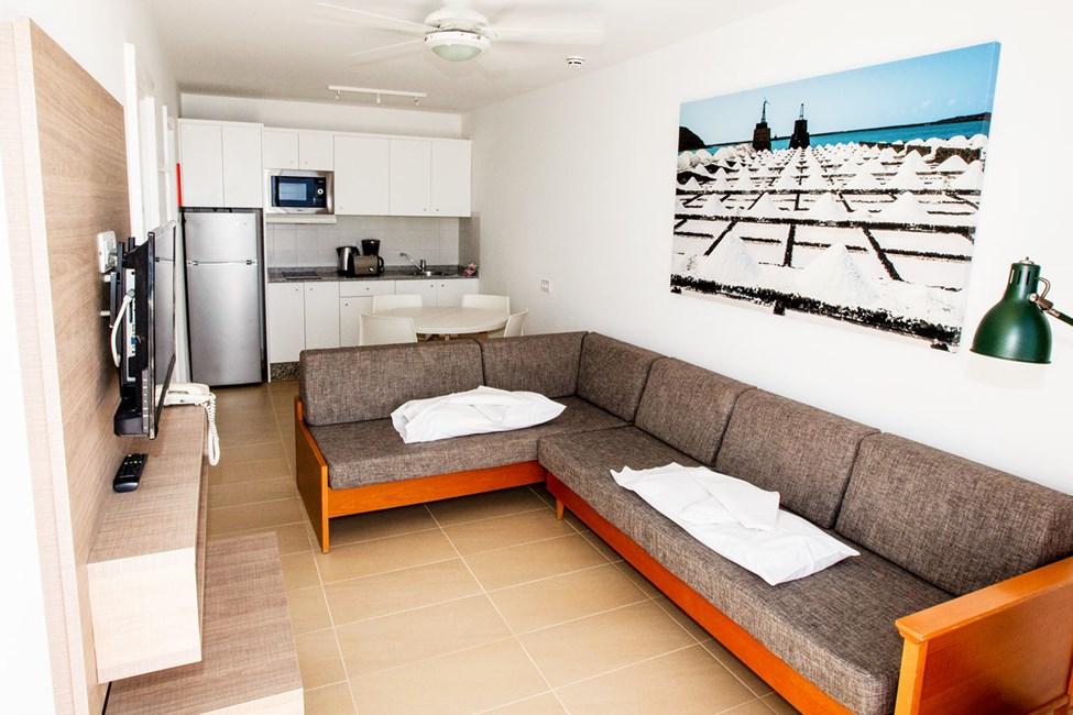 Tvårumslägenhet Club Room typ C med havsutsikt, högt läge