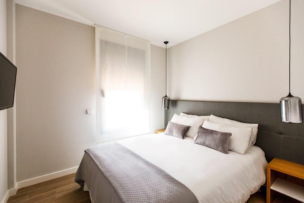 Exempel på sovrum i trerumslägenhet