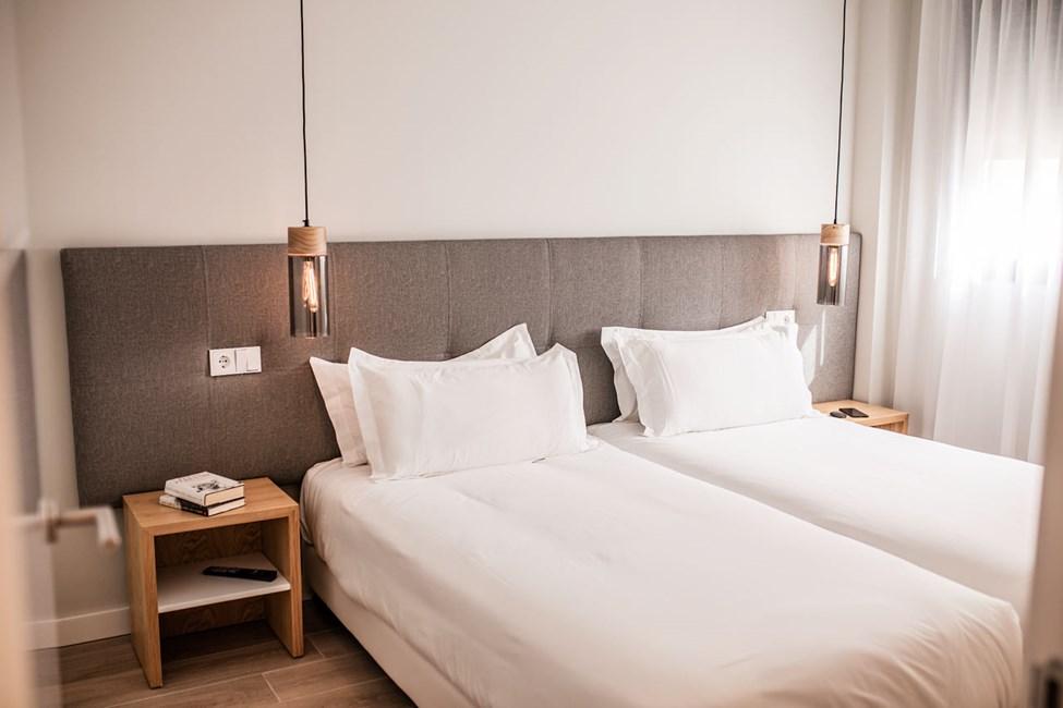 Exempel på sovrum i fyrrumslägenhet