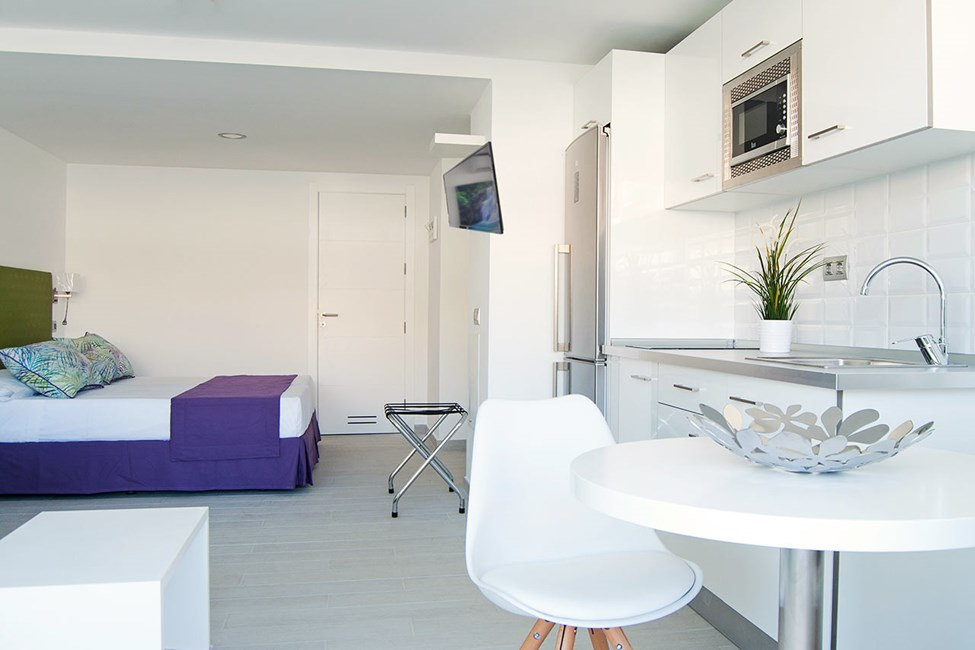 Exempel på lägenhet i Yaizasol-delen