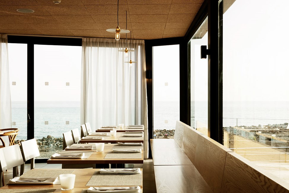 Ocean Beach Clubs restaurang bjuder på makalös utsikt och massor av gott på menyn.