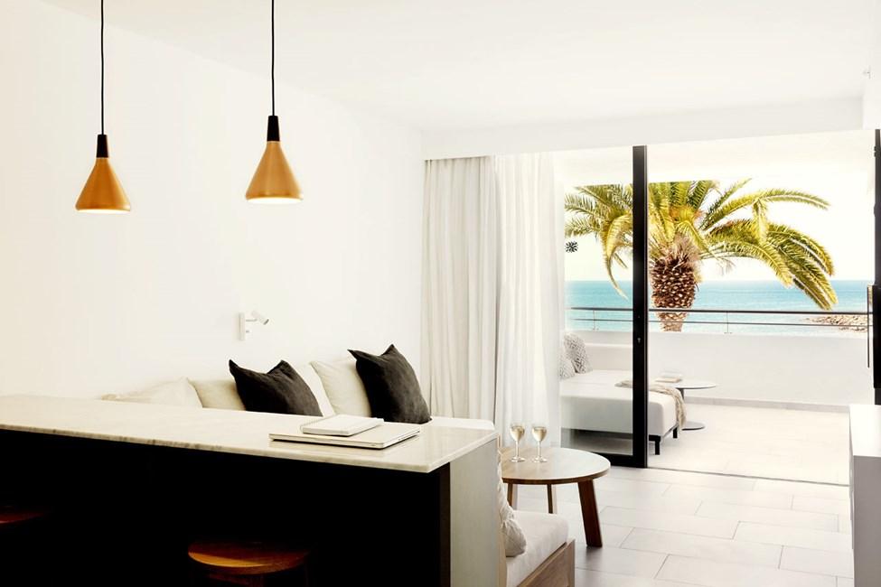 2-rums Club Suite med balkong och havsutsikt