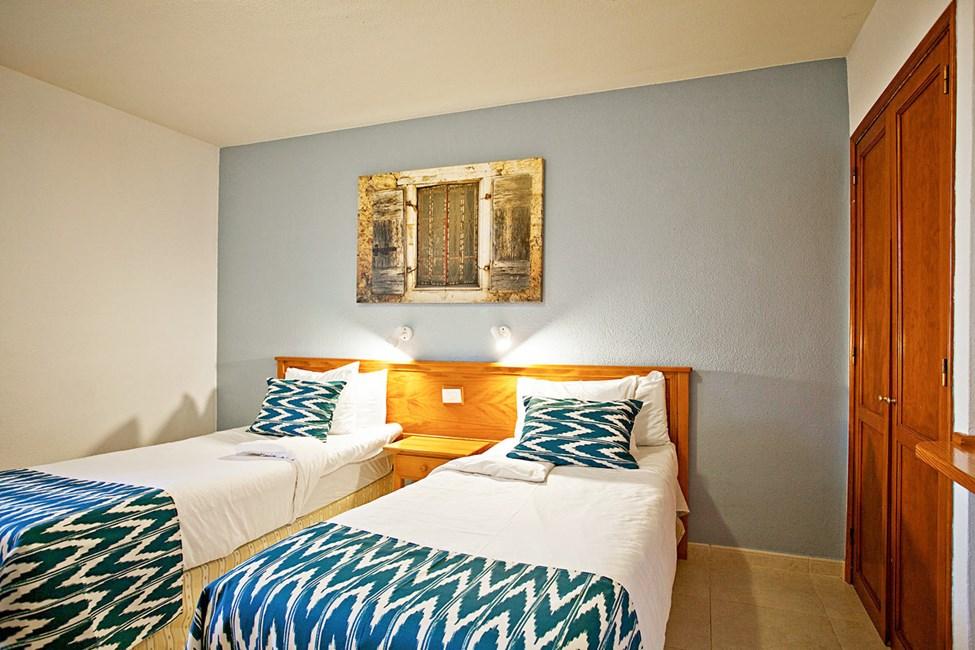Sovrum i två- eller trerumslägenhet