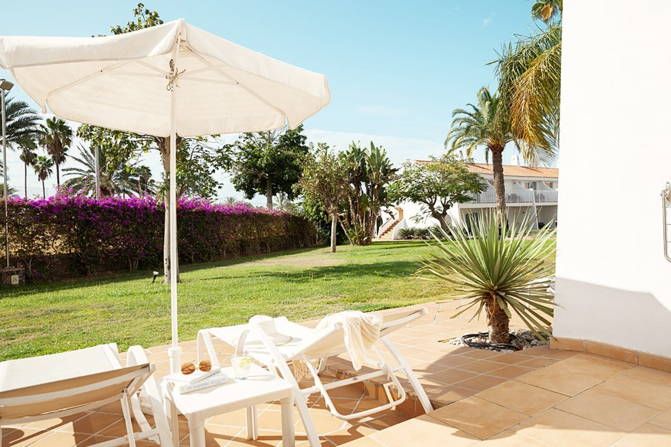 Classic Suite med terrass mot trädgård - Handikappvänlig