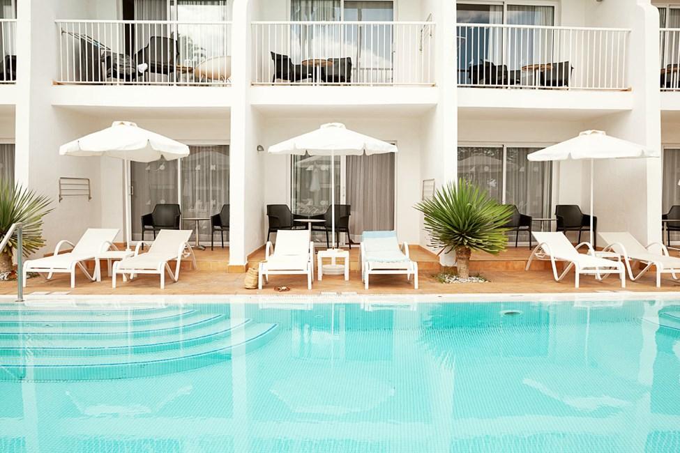 Prime Pool Suite med poolacess