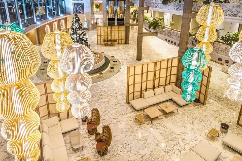Lobbyn på Tabaiba Princess