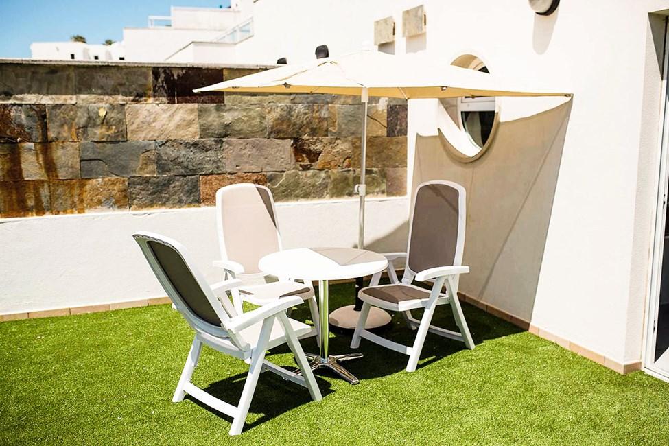 Exempel på tvårumslägenhet i Sunsuite-byggnaden