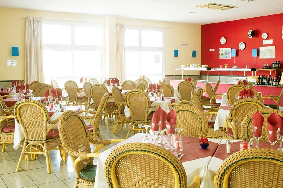 Restaurang på Sunsuite